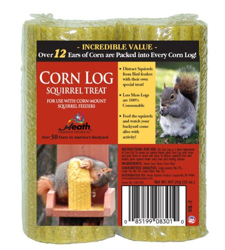 Heath Outdoor Products SQL-2 Corn Log Squirrel Treat ()