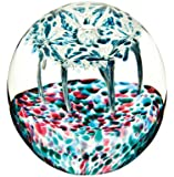 Caithness Glass Piece Crystal The Big top Retro Paperweight, Multi-Coloured