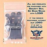 Quick Clip Pro Holster Tough Grip Clips, 3 Hole