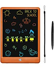 LCD Writing Tablet, KURATU 10 inch Colorful Screen Electronic Drawing Pads for Kids…