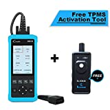 LAUNCH CR8001S Code Reader Oil/EPB/SAS/BMS Reset OBD2 Scanner Scan Tool Testing Engine/Transmission/ABS/Airbag System + TPMS Activation Tool