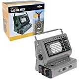 Milestone Camping Portable Gas Heater - Green
