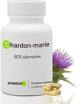 CARDO MARIANO * 200 mg / 60 cápsulas * Cardiovascular, Cinetosis, Digestión (hígado), Mujeres (síndrome premenstrual) * Garantía de satisfacción o ...