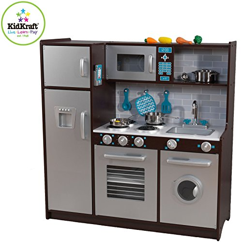 Delicieux Buy KidKraft Modern Midtown Espresso Kitchen Online At Low Prices In India    Amazon.in