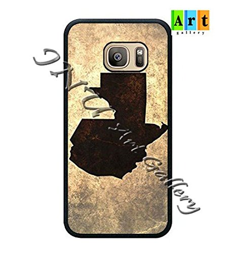 GNU Art Gallery © Samsung Galaxy S7 Edge TPU Case New Custom Design MK450 antigua map (Only Fit Samsung Galaxy S7 Edge)
