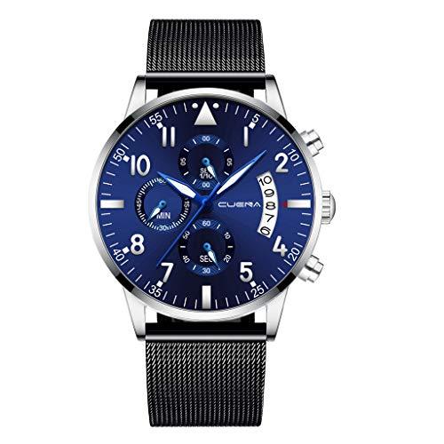 Watch Date Gents - YEZIJIN Men Stainless Steel Luxury Military Analog Sport Quartz Mens Wrist Watch Under 10