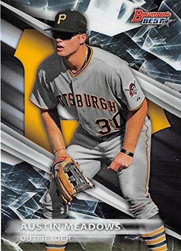 Austin Meadows Baseball Card Pittsburgh Pirates Of 2016 Topps