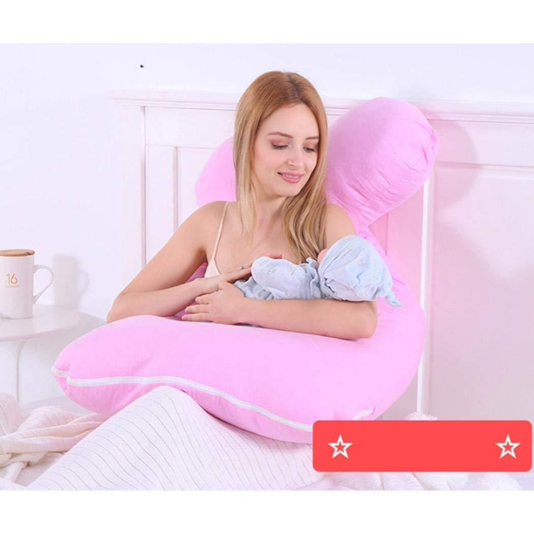 Coussin de maternit/é en forme de U doux doreiller de grossesse de corps complet Oreillers