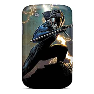 MarcClements Samsung Galaxy S3 Anti-Scratch Hard Cell-phone Cases Provide Private Custom Attractive Nightwing I4 Skin [Rry589oUMl]