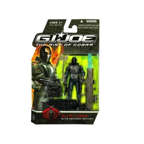 G.I. Joe, The Rise of Cobra Movie, Elite Viper (Elite Regiment Officer) Action Figure, 3.75 Inches (Gi Joe Rise Of Cobra Cobra Commander)