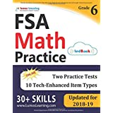 Florida Standards Assessments Prep: 6th Grade Math Practice Workbook and Full-length Online Assessments: FSA Study Guide