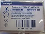 WaterPik Technologies Inc 61310 Wizard Anatomical Wedges Assorted 400/Bx