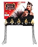 Forum Novelties Roaring 20's Deluxe Black and Gold Flapper Headband