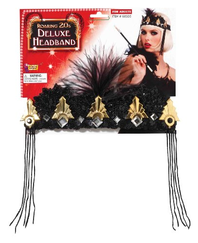Dazzling Red Flapper Halloween Costumes - Forum Novelties Roaring 20's Deluxe Black