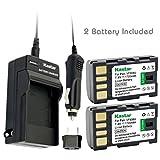Kastar BN-VF808 Battery (2-Pack) an