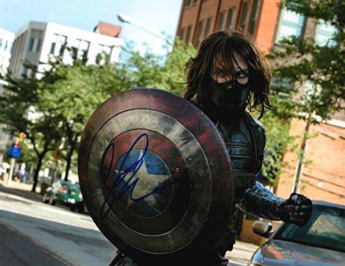 CAPTAIN AMERICA: CIVIL WAR Sebastian Stan - Reprint 8x10 inch Photograph - Marvel Avengers Winter Soldier