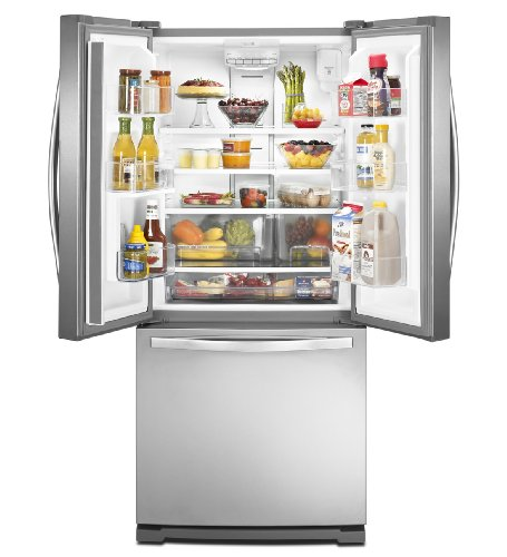 Whirlpool Wrf560smyw 19 6 Cu Ft White French Door