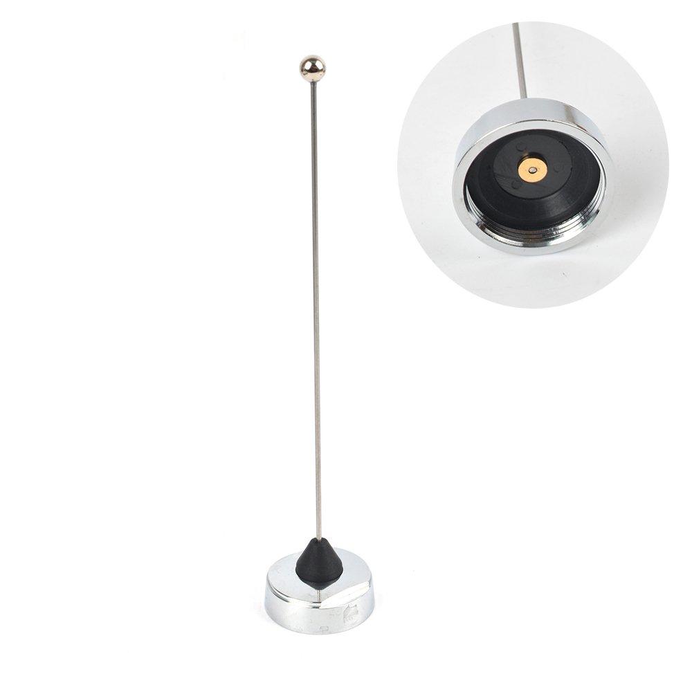 Black UHF 1//4 NMO Pre Tuned 410-490MHZ Antenna Motorola Kenwood Icom Vertex Hyt