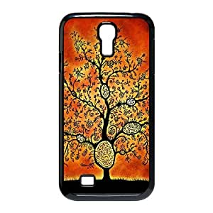 Abstract Tribal Pattern Samsung Galaxy S4 9500 Cell Phone Case Black Ixkip