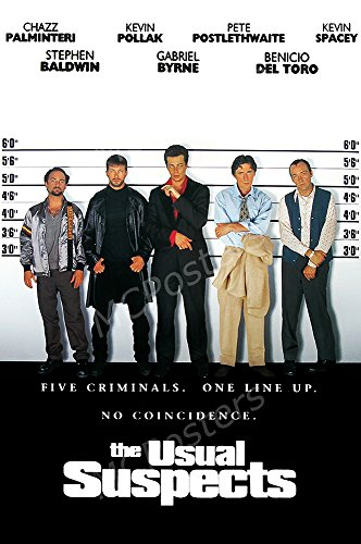 MCPosters The Usual Suspects GLOSSY FINISH Movie Poster - MC