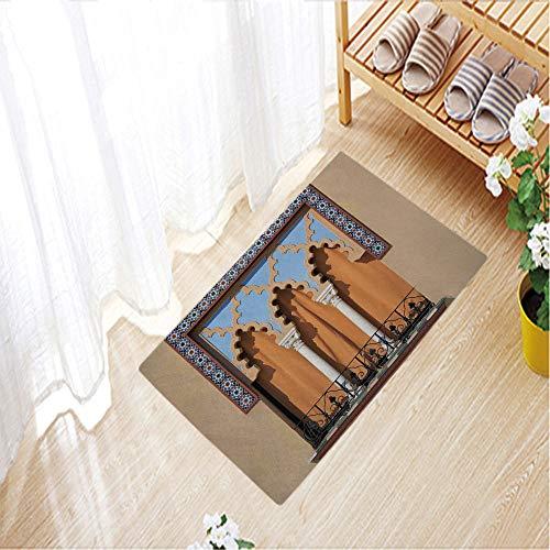 - Home Decor Carpet Short hairs Crystal velvet mats door mat for Living room/bedroom door,23.6