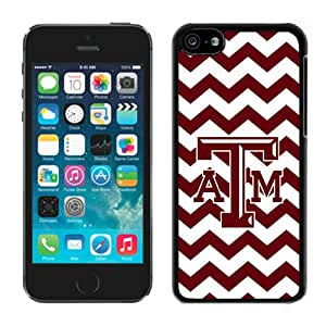 Southeastern Conference SEC Football Texas A&M Aggies 02 Black For iPhone 5C Case Genuine and Cool Design