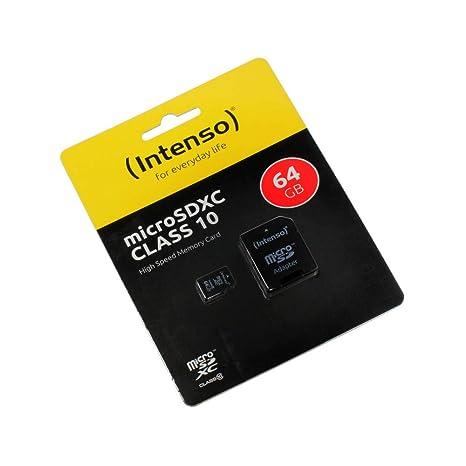 HDR-CX405, 64GB Tarjeta de Memoria Micro SD, microSDXC ...