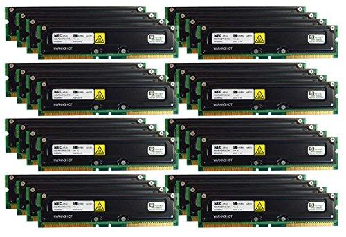 - HP Lot-34 NEC 64MB RIMM Non ECC Memory 1818-8011-L34 MC-4R64CPE6C-745