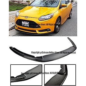EOS Carbon Fiber Body Kit Front Bumper Lip Splitter - For Ford Focus MK3 ST 12-14 2012 2013 2014