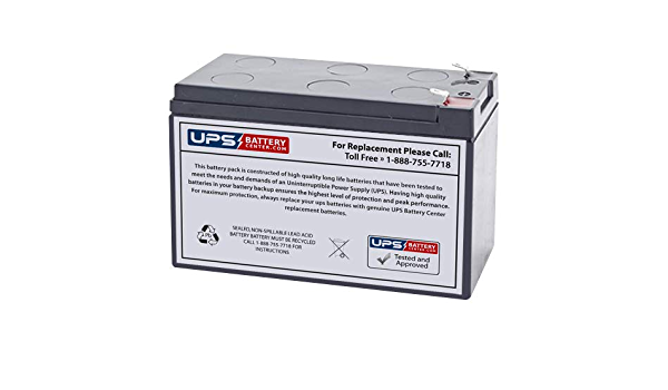 Replacement Battery for Office Power AVR 685AVR by UPS Battery Center