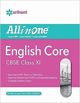 11th Class English Book