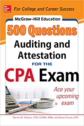 Amazon com: McGraw-Hill Education 500 Auditing and Attestation