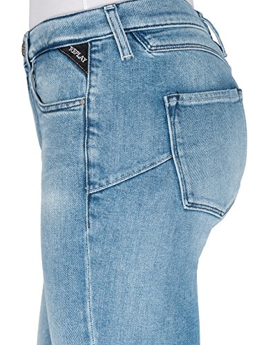 REPLAY Blu Straight Jeans 11 Blue Donna Denim Zackie rqFrR