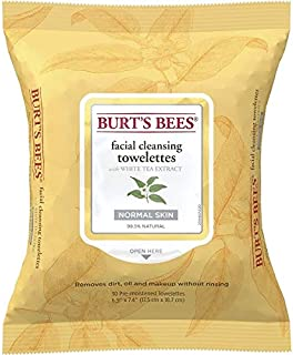 product image for Burt's Bees Sensitive Facial Cleansing Towelettes with White Tea Extract - 30 Count (Pack of 2)
