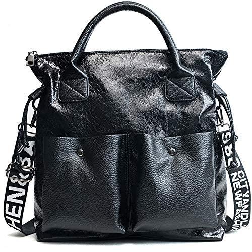 Coutures Simple Mzdpp Black Capacité Sac Sac Couleurs 3 À Bandoulière Pour Grande Nouveau Femme xwpRqw0vC