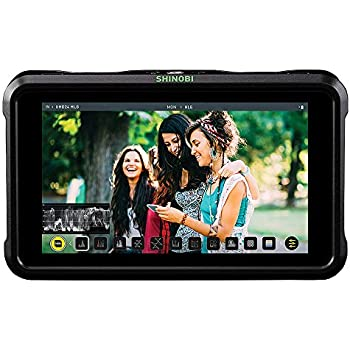 "AC//DC Charger /& Screen Cleaning Atomos Shinobi 5/"" 4K HDMI HDR Photo /& Video Monitor with NP-F770 Lithium-Ion Battery Bundle 5-Pack"