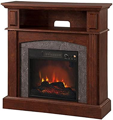 Electric Fireplace with 18 Inch LED Firebox