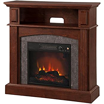 Amazon Com Electric Fireplace With 18 Inch Led Firebox