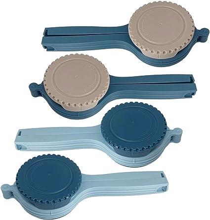 clip per sigillare in plastica di 4 dimensioni set di clip per sigillare Clip per sigillare sacchetti supporto per sacchetti di plastica per conservare cibi e snack due tipi
