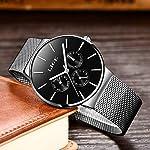 LIGE Watches Mens Sport Waterproof Analogue Quartz Watch Men Full Steel Chronograph Date Casual Wrist Watch