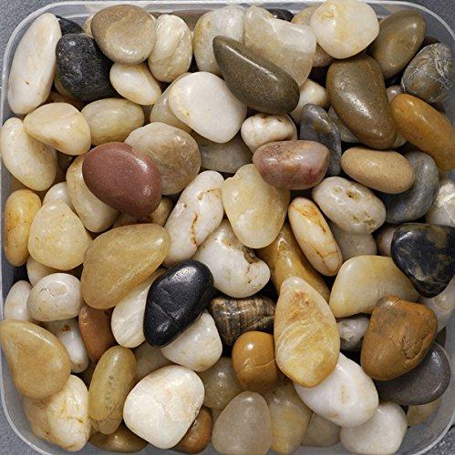Flusskiesel KLEIN ca 8-25 mm 0,5 KG. Kleine Flußkiesel, Kieselsteine 500 Gramm GEMISCHT