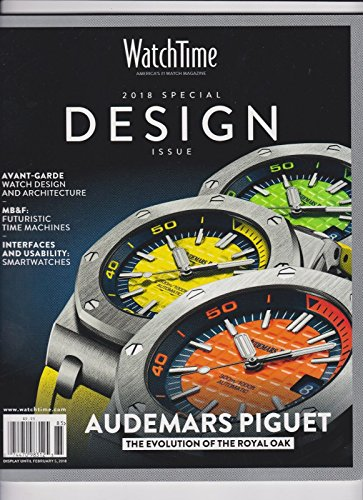 WATCH TIME, MAGAZINE 2018 SPECIAL DESIGN ISSUE - Time Mail International Priority