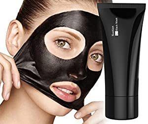 Blackhead Remover Mask [Removes Blackheads] - Purifying Quality Black Pore Removal Peel off Strip Charcoal Mask for Face Nose - Best Mud Facial Mask 60g (2.11 Oz)