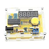 Xuanhemen 1Hz-50MHz Crystal Oscillator Tester Frequency Counter Tester Measuring Meter Case Durable DIY Led Kit