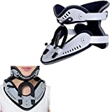 Carejoy Neck Brace Support Cervical Collar Fixture, Assist Recovery from Neck Injury or Surgery (One Adjustable Size)
