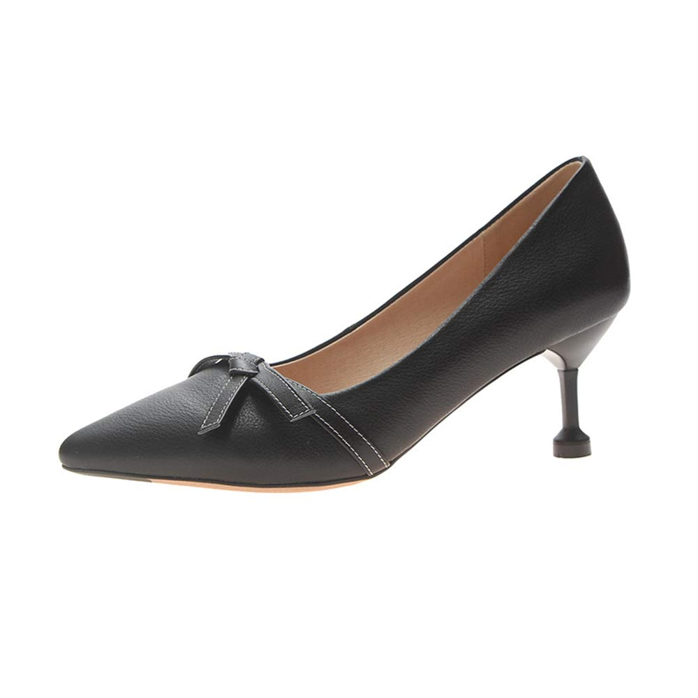 CHENSF Womens Pointed Comfortable Solid Color high Heels