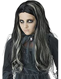 bloody mary girl wig children wig black