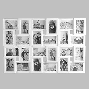 Amazonde 24 Fotos Bilderrahmen Fotorahmen Fotocollage Collage
