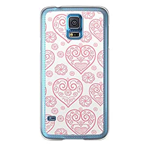 Loud Universe Samsung Galaxy S5 Love Valentine Printing Files A Valentine 165 Printed Transparent Edge Case - Off White/Red