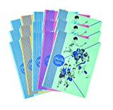 Variety Economy 15 Folder Pack of Mead Pee-Chee 2-Pocket Paper Folder, 12'' x 9'', Assorted Designs!